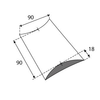 Produktbild-Kissenverpackungen-90x18x90mm